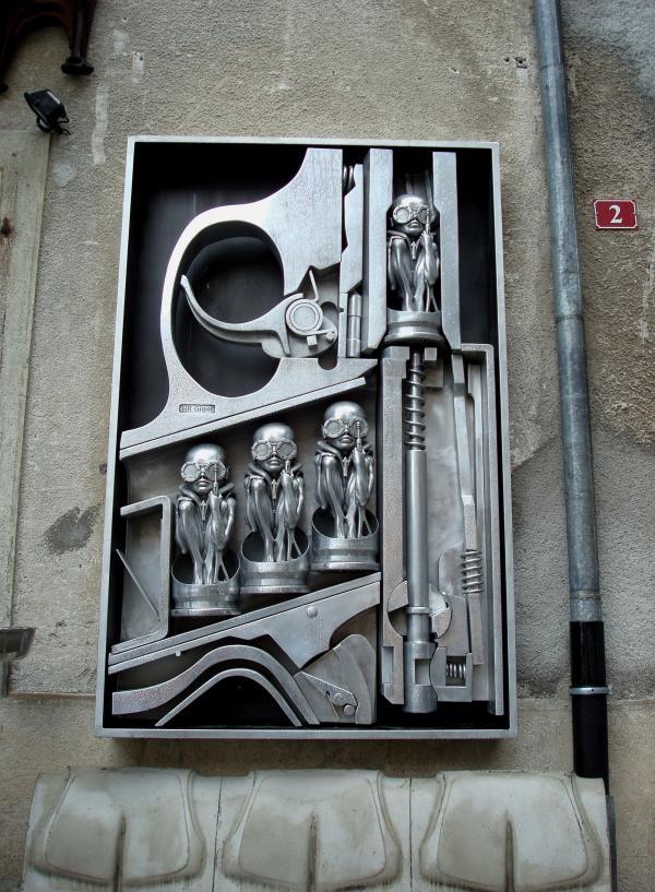 Musée HR Giger - Gruyère - Suisse