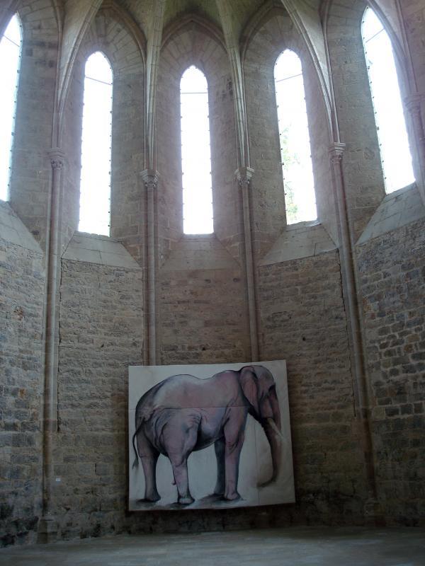 Abbaye de Beaulieu en Rouergue - Expo 2011 - Colin Castell