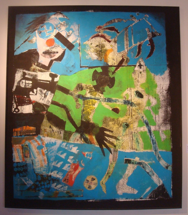 Jacques Martinez - sans titre 2008 - Musée d'Art Moderne et Contemporain de Cordes