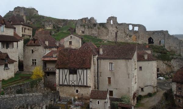 Saint Cirq-Lapopie en passant