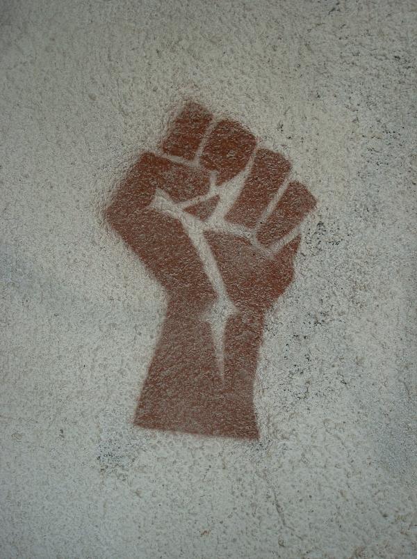 Sur un mur à Cahors