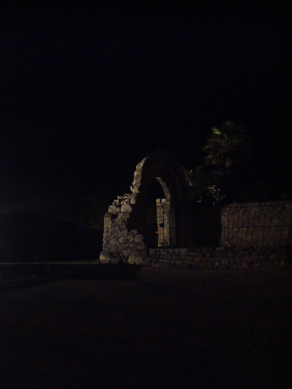 Rocamadour - L'hospitalet - Ruines de l'hopital St Jean - XIe s.