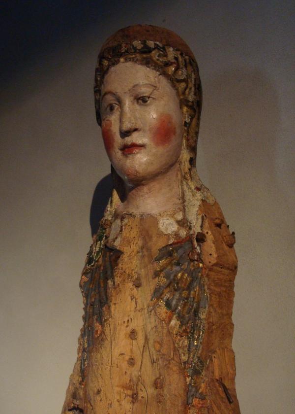 Vierge en majesté - Musée Fenaille - Rodez